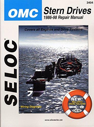 Sierra International Seloc Manual 18-03404 Omc Cobra Stern Drives Repair 1986-1998 Engine & Drive Systems