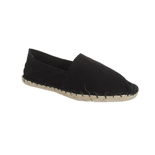 Zapatos de esparto Sonnenscheinschuhe Espandrillos negros tam. 36 - 46, alpargatas negras: Amazon.es: Zapatos y complementos