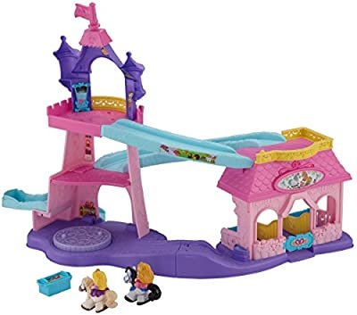 Fisher-Price Little People Disney Princess Klip Klop Stable by Fisher-Price