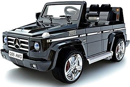 Amazon Com Mercedes Benz Suv G55 Amg Kids 12v Dual Engine Electric