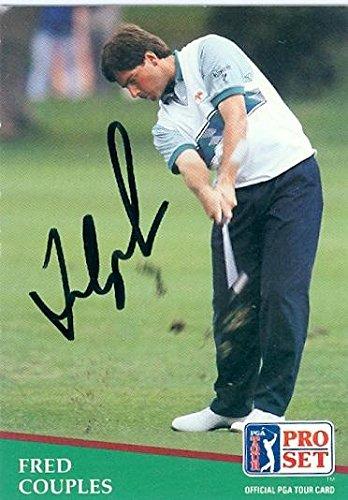 - Autographed Pro Set Golf Card - Guaranteed to pass PSA or JSA ()