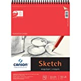 Pro-Art 11-Inch by 14-Inch Foundation Wire Bound Sketch Pad, 50-Sheet