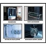 Bagno-Italia-Box-Idromassaggio-cabina-doccia-multifunzione-130x85cm-versione-sinistra-con-Vasca-bagno-turco-sauna-I