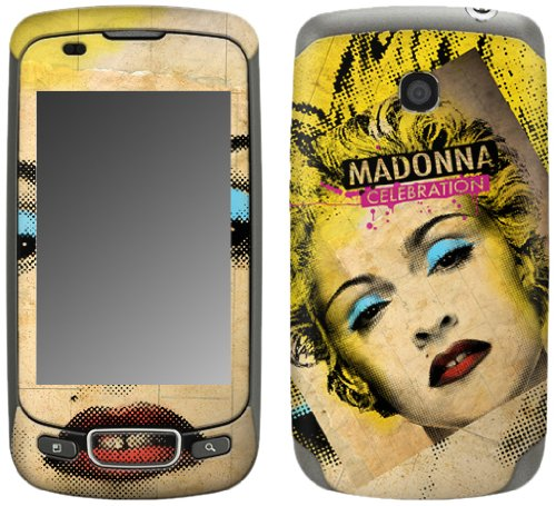 MusicSkins, MS-MD40248, Madonna - Celebration, LG Optimus T (P509), (Madonna Celebration Skin)