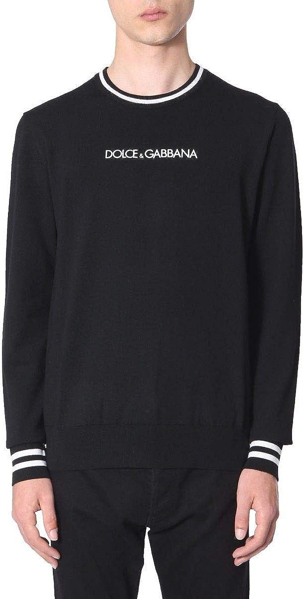 Dolce E Gabbana GX550ZJAVKDN0000 - Jersey de Lana para Hombre, Color Negro Negro 50: Amazon.es: Ropa y accesorios