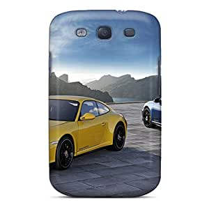 Durable 2012 Porsche 911 Carrera 4 Gts Back Cases/covers For Galaxy S3