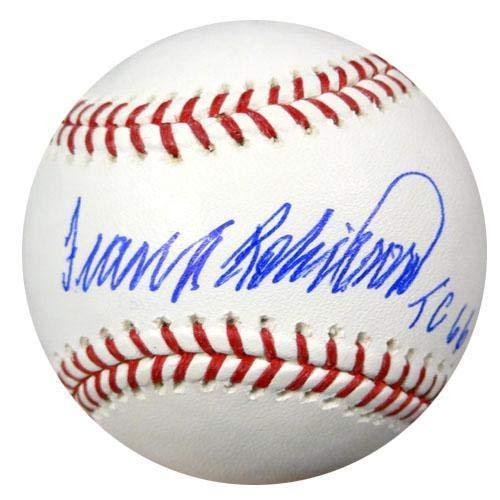 (Frank Robinson Autographed Official MLB Baseball Baltimore Orioles