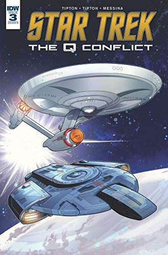 Pdf Graphic Novels Star Trek: The Q Conflict #3 (of 6)