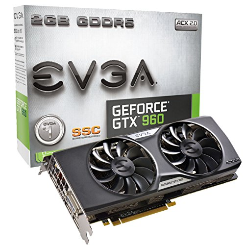 EVGA GeForce GTX 960 2GB SSC GAMING