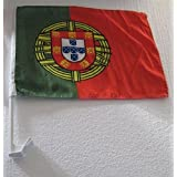 2 Pack World Cup car Flags