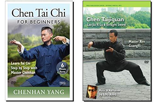 Bundle: Chen Tai Chi 2-DVD for Beginners (YMAA Chen-Style Tai Chi Chuan) Chenhan Yang & Ren, GuangYi with Lou Reed