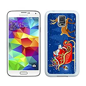 Design for Mass Customization Merry Christmas White Samsung Galaxy S5 Case 35