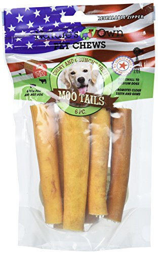 Best Buy Bones Natures Own Moo Tails Pet Chews (1 Pack) 6 pieces , One Size