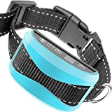 TIFTAF Bark Collar [1 Year Warranty] Harmless & Humane Anti Barking Control Device Train Your Pet. Safe for Large Medium & Small Dog Rechargeable Rainproof Lightweight