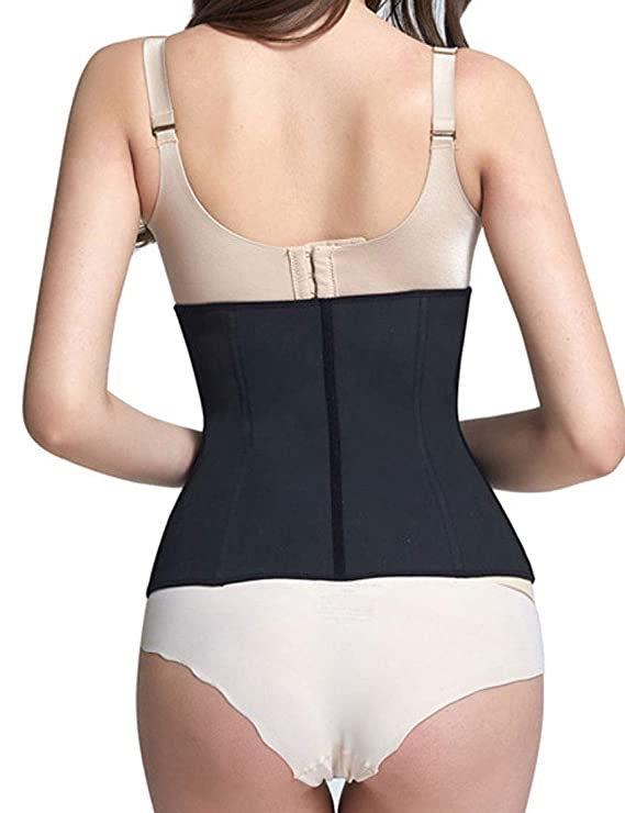 b27025b870 HiliZ Womens Tummy Control Waist Trainer Belly Wrap Active Weight Loss  Waist Cincher at Amazon Women s Clothing store
