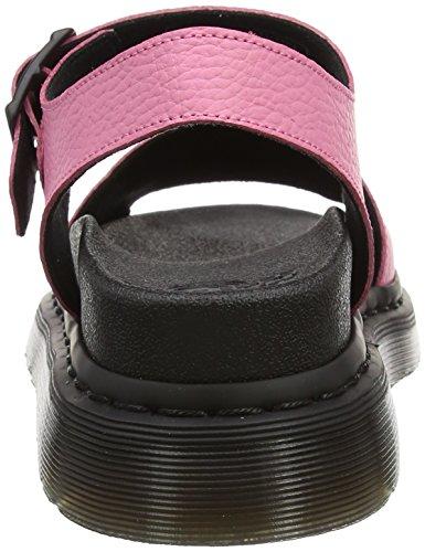 Dr. Martens Romi, Sandales Femme, Noir Rose (Soft Pink Pebble Lamper)