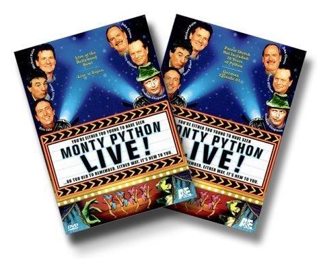 Monty Python Live! by A&E Home Video by Terry Hughes Ian MacNaughton by A&E Home Video