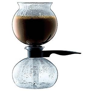 European One Cup Coffee Maker : Amazon.com: Bodum PEBO Coffee Maker, Vacuum Coffee Maker, Siphon Coffee Brewer, Slow Brew, Bold ...