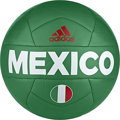 - adidas Performance Copa 2016 Capitano Mexico Soccer Ball, Green/Red/White, 5