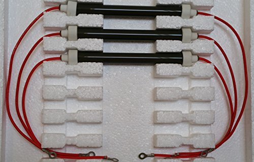 SET OF 3 OEM BULBS/HEATING ELEMENTS COMPLETE KIT for 900 ...