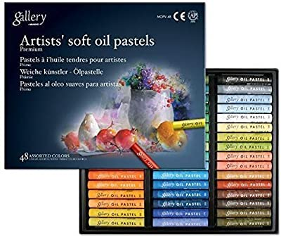 Mungyo Gallery Soft Oil Pastels Set of 48 - Assorted Colors