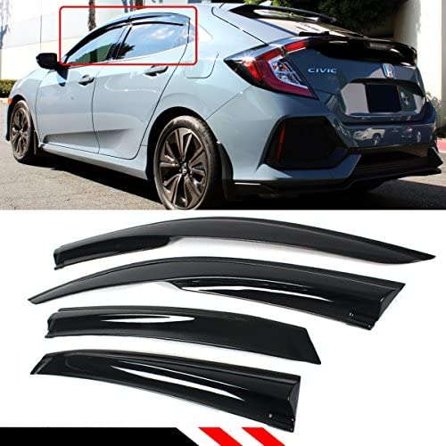 Cuztom Tuning 2016 2019 Hatchback Deflector product image