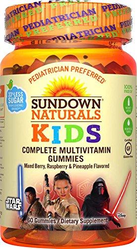Sundown Naturals Kids Star Wars Complete Multivitamin, 60...