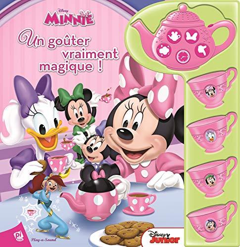 Theiere Tea - Disney Minnie Mouse - Un goûter vraiment magnifique! - Livre sonore avec théière à interactif - Best Friends Tea Party Sound Book with Interactive Tea Set - PI Kids (French Edition)