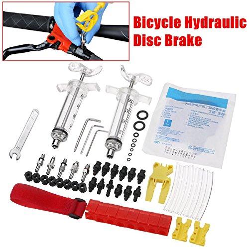 Bicycle Hydraulic Disc Brake Bleed Kit tool for TEKTRO SHIMANO MAGURA ZOOM CSC