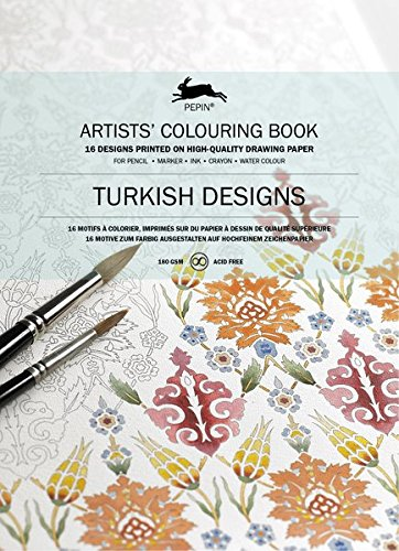 Pepin Press Pepin Press Turkish : ARTISTS'COLOURING BOOK (98017 ) (Press Pepin)