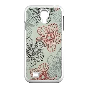 Pink Floral Original New Print DIY Phone Case for SamSung Galaxy S4 I9500,personalized case cover ygtg570104