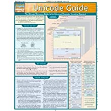 Unicode Guide Laminated Reference Chart (Quickstudy: Computer) by Joe Becker (2006-04-04)