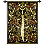 Fine Art Tapestries ''Celtic Warrior'' Wall Tapestry