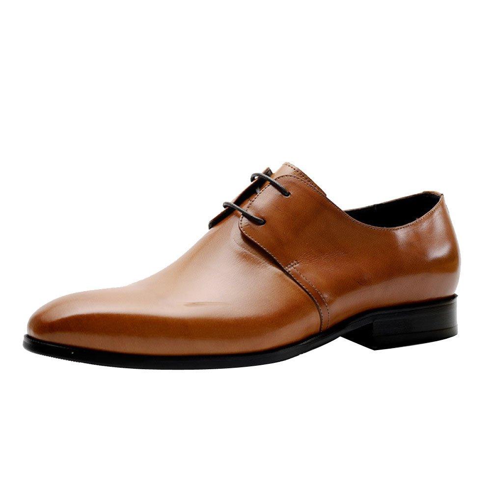 DHFUD British Leder Sommer Herrenschuhe Business Männer Spitzen Schuhe