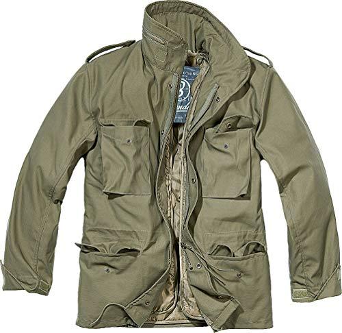 Brandit Men's M-65 Classic Jacket Olive Size XXL