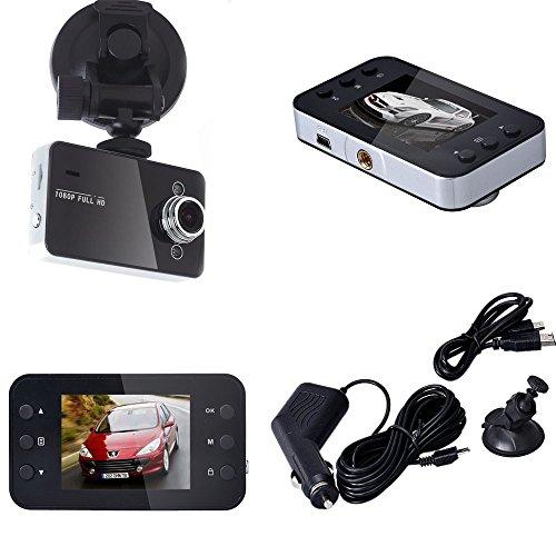 ❤️Jonerytime❤️1080P Night Vision HD G-Sensor Car DVR Vehicle Camera Video Recorder Dash Cam (Gray)