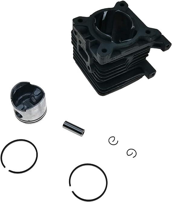 Cancanle 34mm Cilindro con pistón para STIHL FS38 FS45C FS45C ...