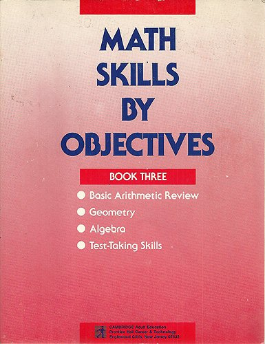 Math Skills by Objectives Book 3