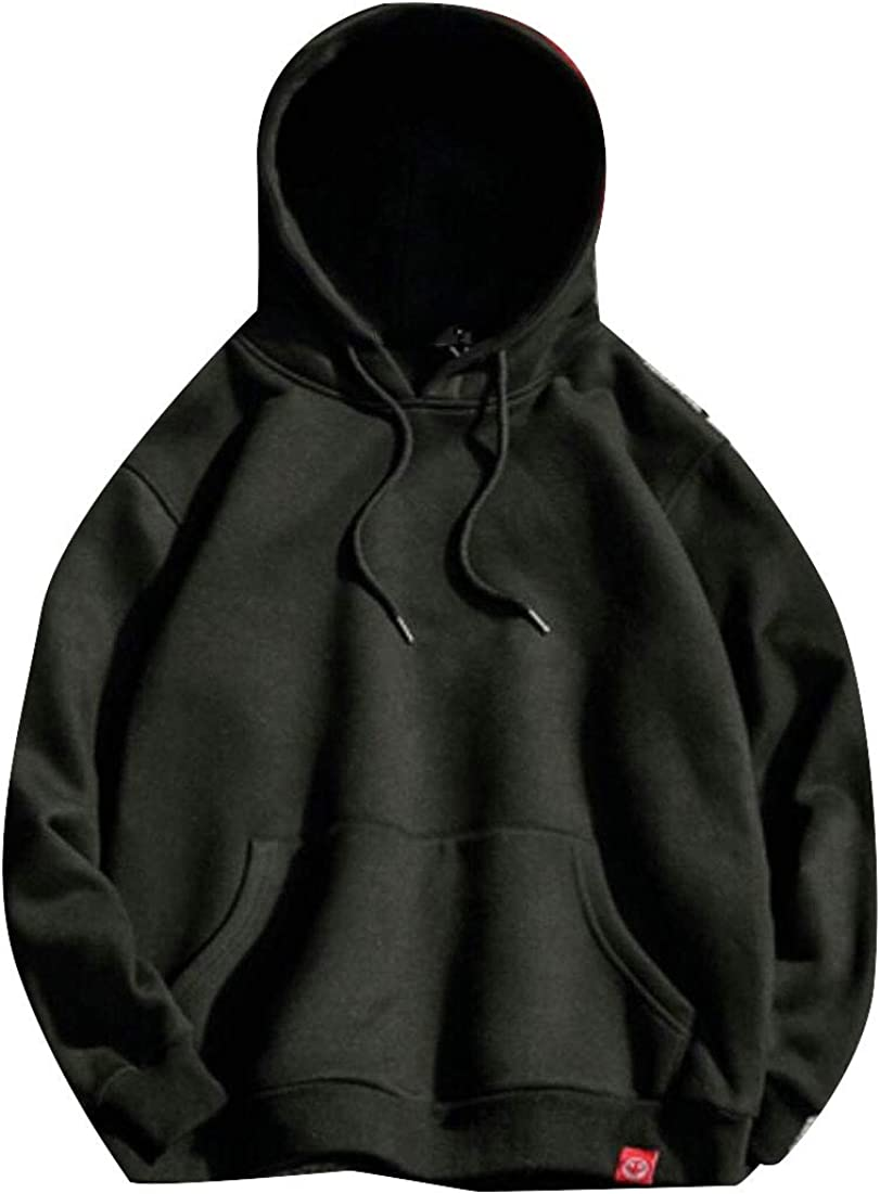 GAGA Mens Loose Pullover Hooded T-Shirt Casual Hoodie Sweatshirt