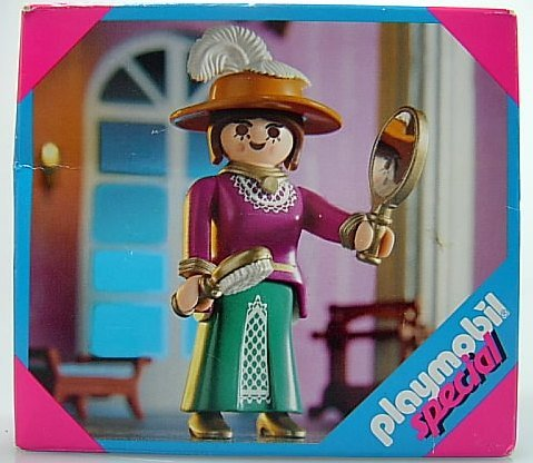 Playmobil Victorian Lady with Brush & Mirror