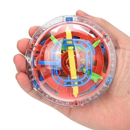- Mini Maze Ball 30 Barrier Intelligence 3-D Mosaic Toy Balance Barrier Magic Maze Gift for Children