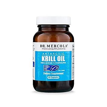 Amazon.com: Dr. Mercola Aceite de krill antártico ...
