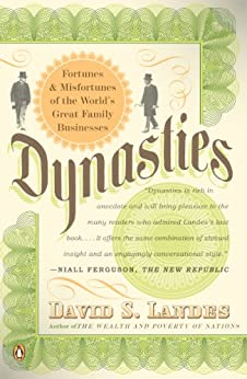 image for Dynasties: Fortunes and Misfortunes of the World's Great Family Businesses