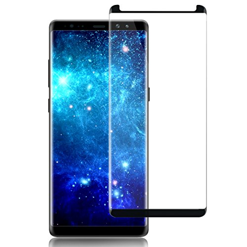 herhea sa-12 Galaxy Note 8 Screen Protector Tempered Glass, 3D Full Screen Coverage, Easy to Install, HD Clear, Case Friendly, Anti Fingerprint, High Sensitivity Upgraded Film