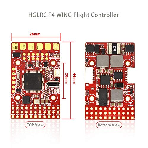 Wikiwand HGLRC F4 Wing Flight Controller FC for Fixed-Wing Racing Drone 2S -6S 8S Lipo by Wikiwand (Image #7)