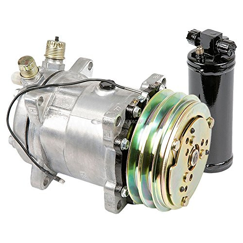 (AC Compressor w/A/C Drier For Renault Alliance & Encore - BuyAutoParts 60-88966R2 New)