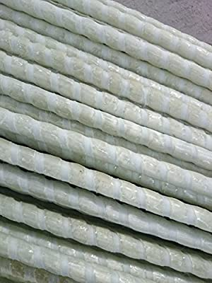 "Eco Pultrusions 1/2""x 72in Fiberglass Pultruded Bar, Fiberglass Reinforcement Plastic Rebar, FRP Bar"