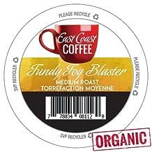 East Coast Coffee Fundy Fog Blaster Coffee K-Cups, 24 Count