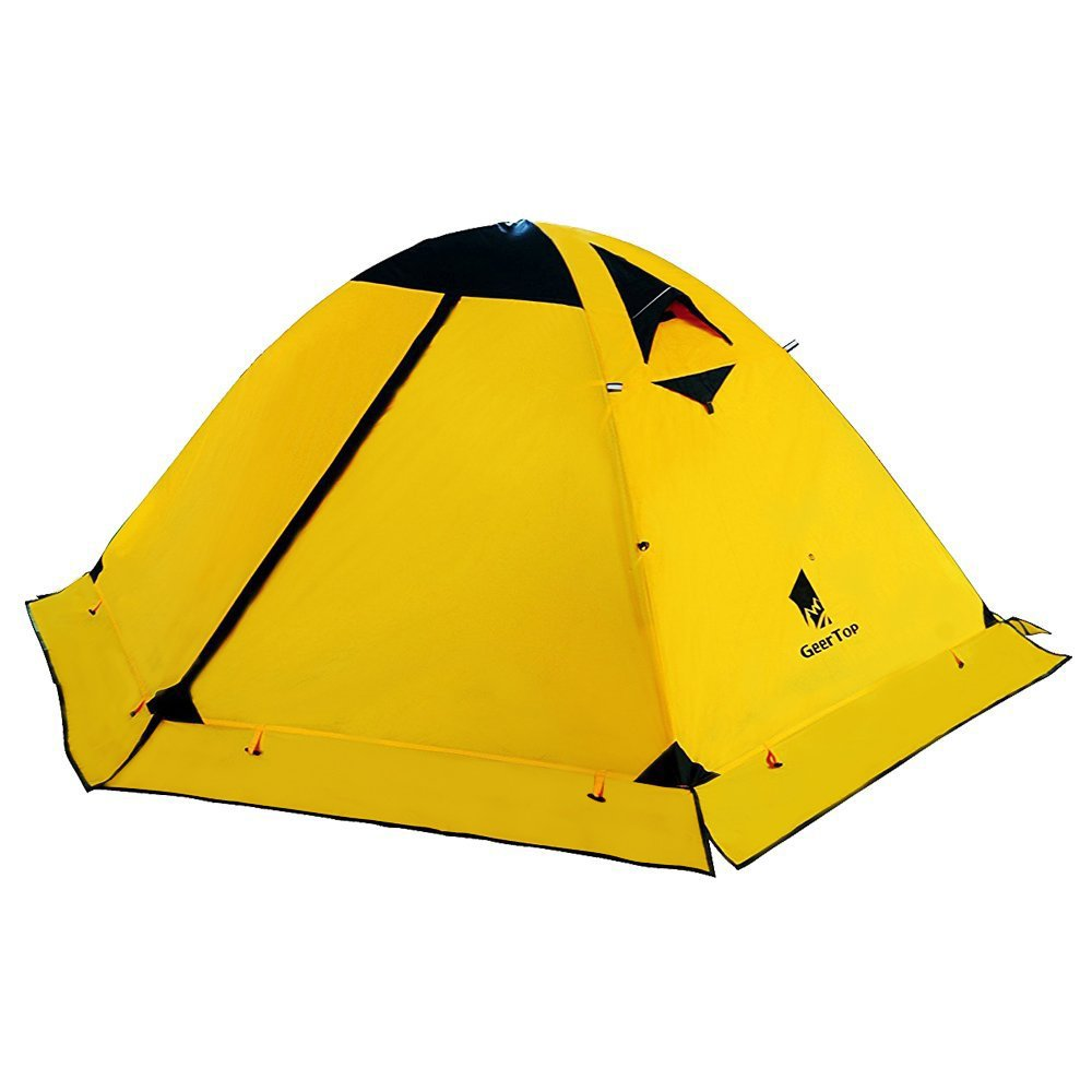 GEERTOP Ultralight 2 Man Tents for Camping Waterproof Double Layer 4 Season Backpacking Tents 2 Person for Hiking Climbing Outdoor Travel - Easy to Set Up by GEERTOP