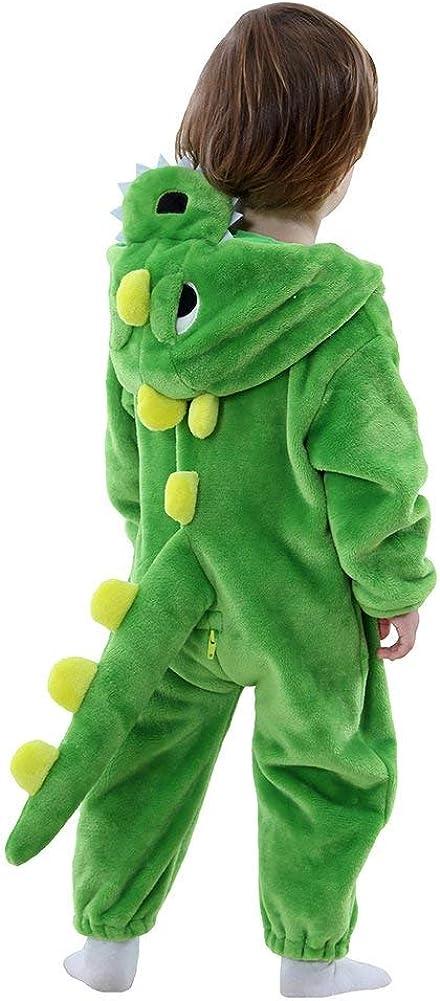 Disfraz Dinosaurio Dragon bebé Animal Onesie Dinosaurio Pijama Regalo de cumpleaños para bebé niño